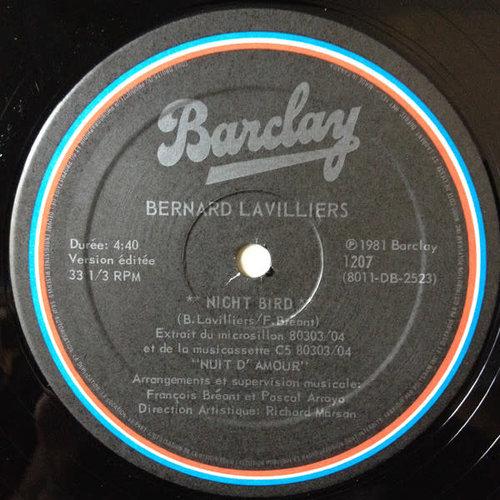 Bernard Lavilliers - Night Bird [USED]