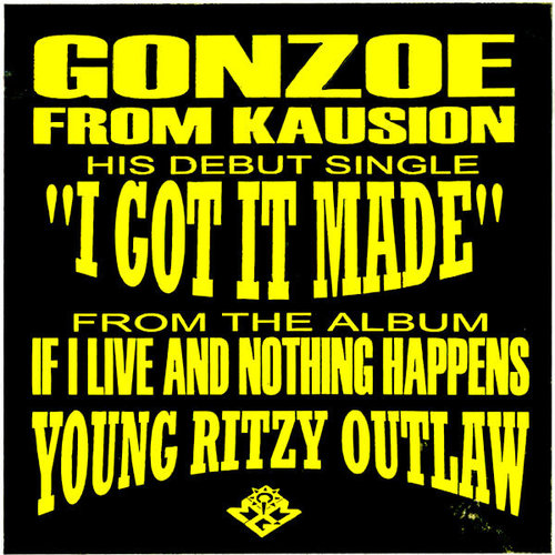 Gonzoe - I Got It Made / Dirty Dancing [USED]