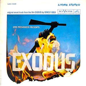 Ernest Gold - Exodus - An Original Soundtrack Recording [USED]