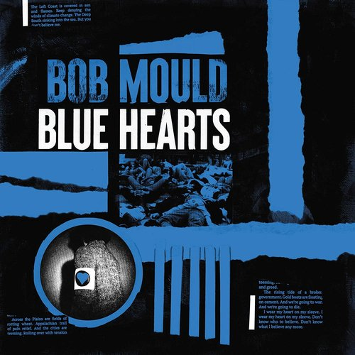 Bob Mould - Blue Hearts (Limited Edition - Blue/Black/White Tri-color) [NEW]