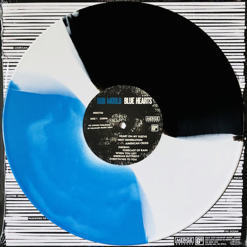 Bob Mould - Blue Hearts (Limited Edition - Blue/Black/White Tri-color) [NEW]
