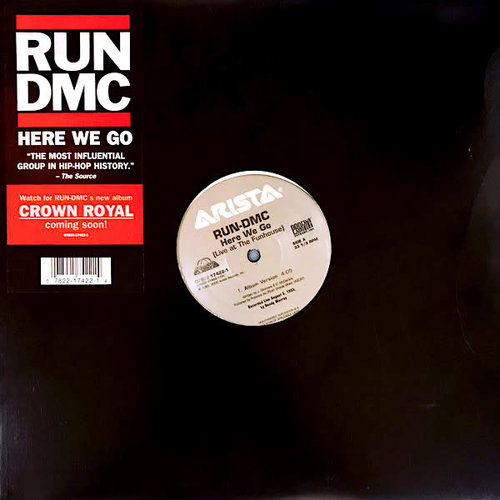 Run-DMC - Here We Go (Live At The Funhouse) [USED]