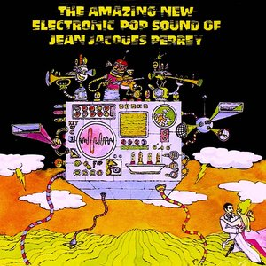 Jean-Jacques Perrey - The Amazing New Electronic Pop Sound Of Jean Jacques Perrey [USED]