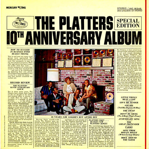 The Platters - Platters 10th Anniversary Album [USAGÉ]