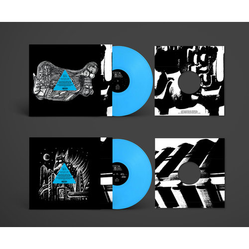 Thisquietarmy X Away - The Singularity, Phase I Limited Edition - Neon Blue Vinyl) [NEW]