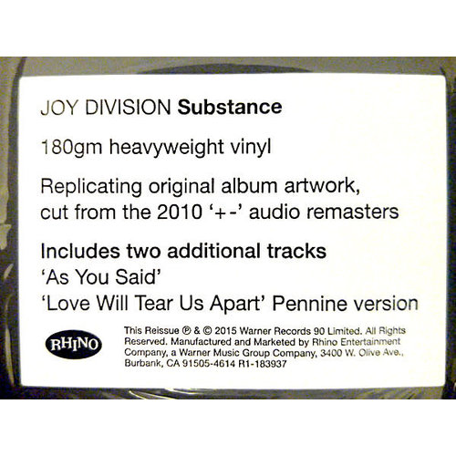 Joy Division - Substance   [NEW]