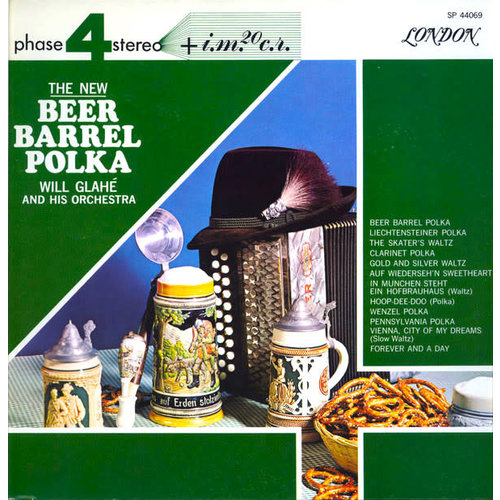 Will Glahé Und Sein Orchester - The New Beer Barrel Polka [USED]