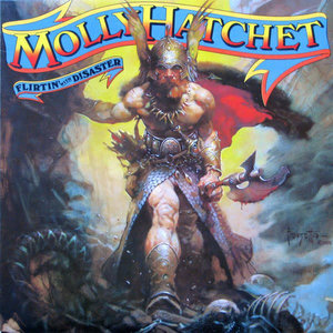 Molly Hatchet - Flirtin' With Disaster [USED]