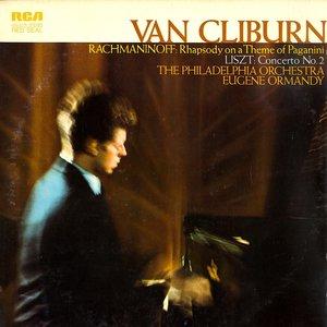 Van Cliburn, Eugene Ormandy, The Philadelphia Orchestra, Franz Liszt / Sergei Vasilyevich Rachmaninoff - Liszt: Concerto No. 2 In A / Rachmaninoff: Rhapsody On A Theme Of Paganini [USED]