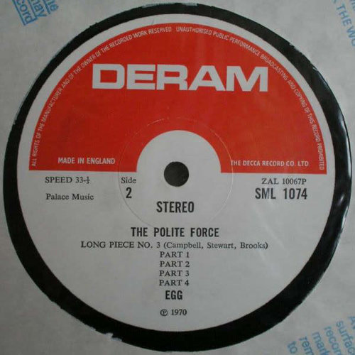 Egg - The Polite Force [USED]