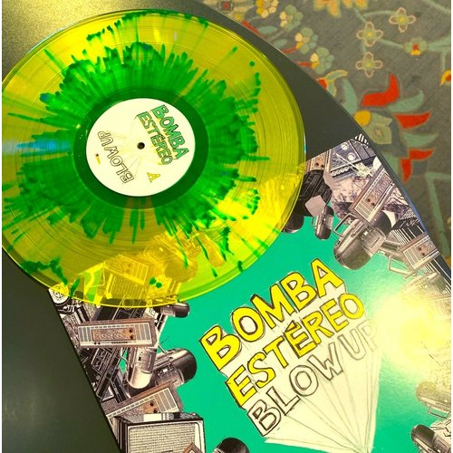 Bomba Estéreo - Blow Up (Limited Edition - 10th Anniversary Splatter Vinyl) [NEW]