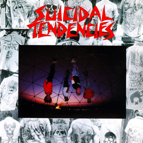 Suicidal Tendencies - Suicidal Tendencies (Limited Edition - Red Translucent/Black Splatter) [NEUF]