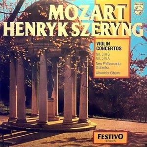 Henryk Szeryng, Alexander Gibson, New Philharmonia Orchestra, Wolfgang Amadeus Mozart - Violin Concertos No. 3 In G, No. 5 In A [USAGÉ]