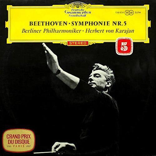 Ludwig van Beethoven - Berliner Philharmoniker ‧ Herbert von Karajan - Symphonie Nr.5 [USAGÉ]