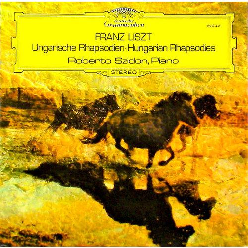 Franz Liszt, Roberto Szidon - Ungarische Rhapsodien = Hungarian Rhapsodies [USAGÉ]