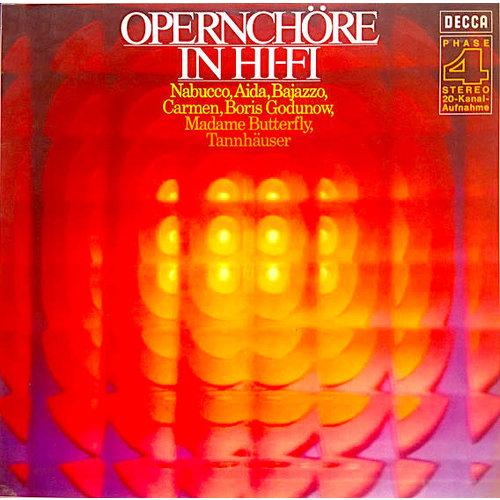 Various - Opernchöre In Hi-Fi [USAGÉ]