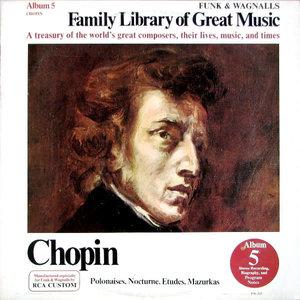 Frédéric Chopin - Polonaises, Nocturne, Etudes, Mazurkas [USAGÉ]