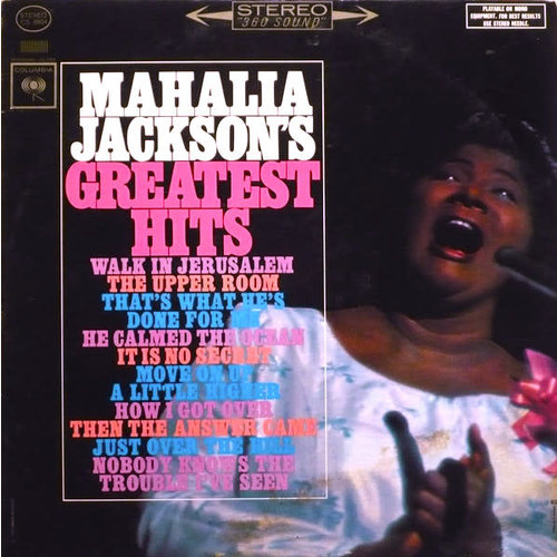 Mahalia Jackson - Mahalia Jackson's Greatest Hits [USED]