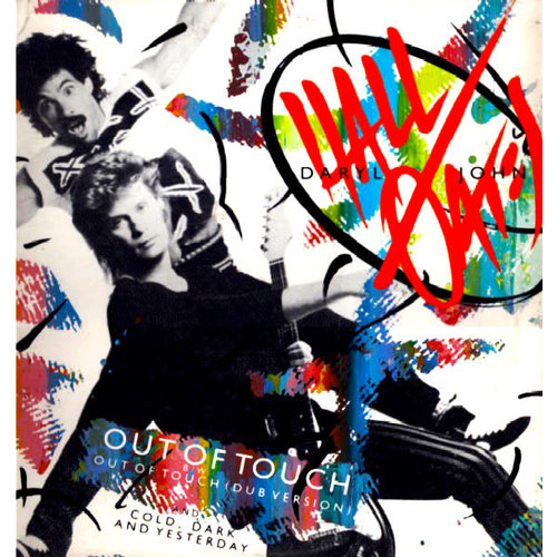 Daryl Hall & John Oates - Out Of Touch [USED]