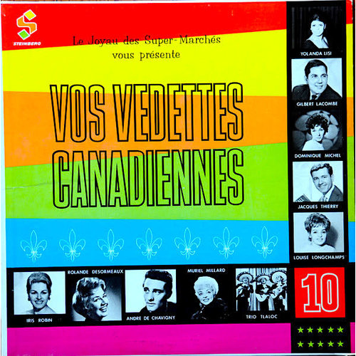 Various - Vos Vedettes Canadiennes [USED]