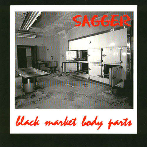 Sagger - Black Market Body Parts (Limited Edition)[USED]