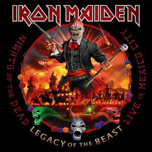 Iron Maiden - Nights Of The Dead, Legacy Of The Beast: Live In Mexico City (3LP) [NEUF]
