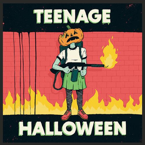 Teenage Halloween - Teenage Halloween (Transparent Light Blue Vinyl) [NEW]
