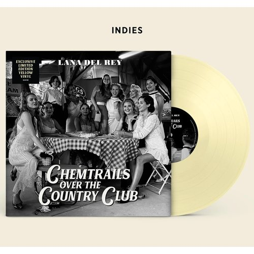 Lana Del Rey - Chemtrails Over The Country Club (Indie Exclusive - Yellow Vinyl) [NEW]