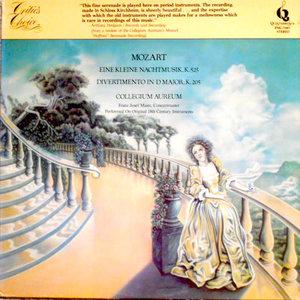 Wolfgang Amadeus Mozart, Collegium Aureum, Franzjosef Maier - Eine Kleine Nachtmusik, K. 525 / Divertimento In D Major, K. 205 [USAGÉ]