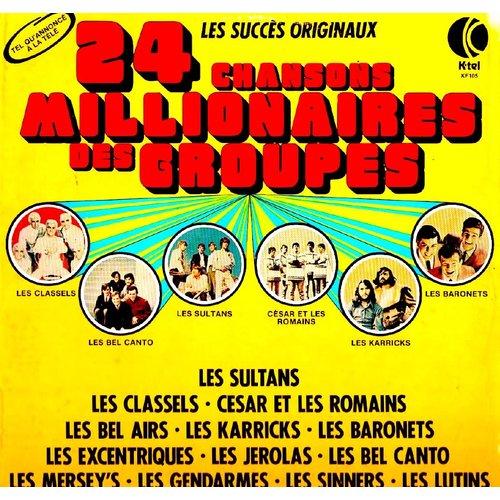 Various - 24 Chansons Millionnaires Des Groupes [USAGÉ]