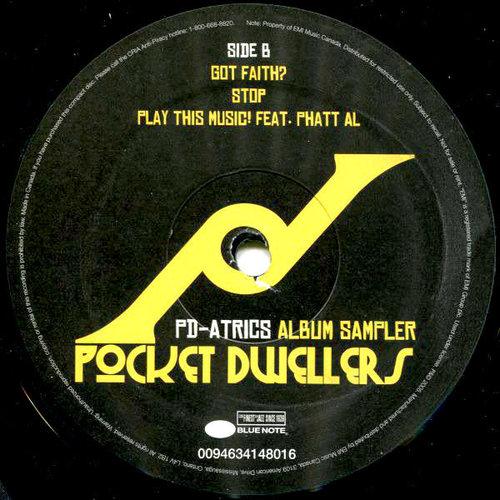 Pocket Dwellers - PD-Atrics Album Sampler [USED]