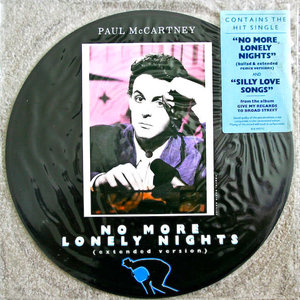 Paul McCartney - No More Lonely Nights (Picture Disc)[USAGÉ]