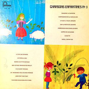 Les Petits Choristes De L'Ecole Jules Ferry - Chansons Enfantines No 3 [USED]