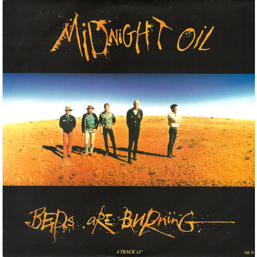 Midnight Oil - Beds Are Burning [USED]