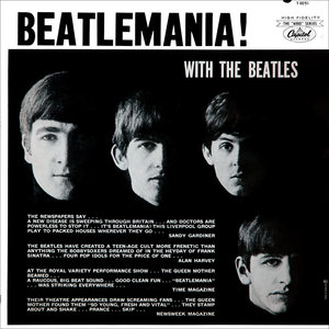 The Beatles - Beatlemania! With The Beatles [USAGÉ]