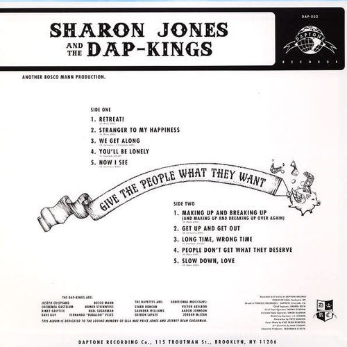 Sharon Jones & The Dap-Kings - Give The People What They Want  [NEW]
