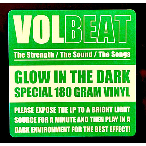 """Volbeat - The Strength / The Sound / The Songs (15th Anniversary """"Glow in the dark"""" Vinyl) [NEW]"""