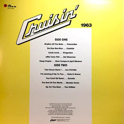 Various - Cruisin' 1963 [USED]