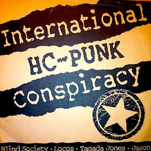 """Various - International HC-PUNK Conspiracy (7"""" - Limited Edition Red Vinyl)[USED]"""