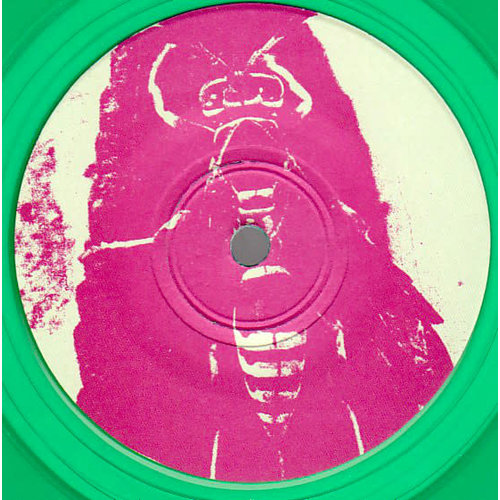 Big Hair - Shall I Pee On Your Face And Make It Stick EP? (Green Translucent Vinyl)[USED]
