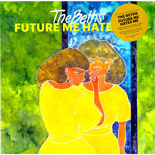The Beths - Future Me Hates Me (Limited Edition - Cloudy Blue Vinyl)[NEUF]