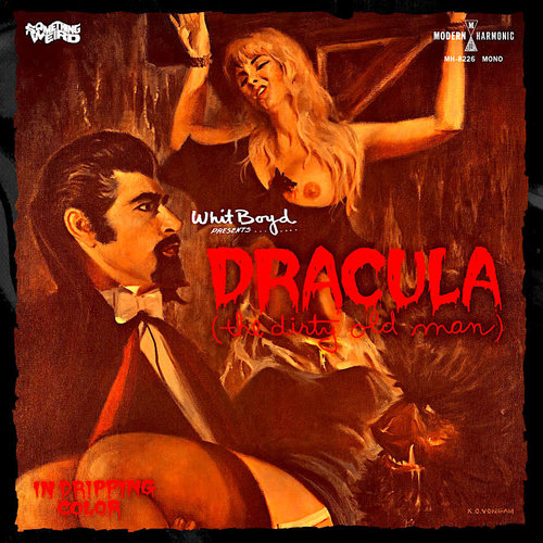 The Whit Boyd Combo - Dracula (The Dirty Old Man) Original Motion Picture Soundtrack (Mono Blood Red Vinyl + DVD) [NEW]
