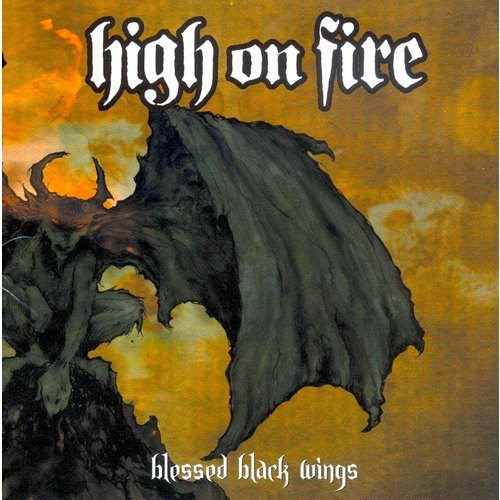 High On Fire - Blessed Black Wings (2021 Press - Orange Cloudy Edition) [NEUF]