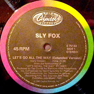 """Sly Fox - Let's Go All The Way (12"""")[USED]"""