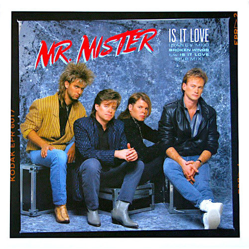 """Mr. Mister - Is It Love (12"""")[USED]"""