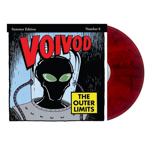 Voïvod - The Outer Limits Limited Edition - Rocket Fire Red/Black Smoke Vinyl