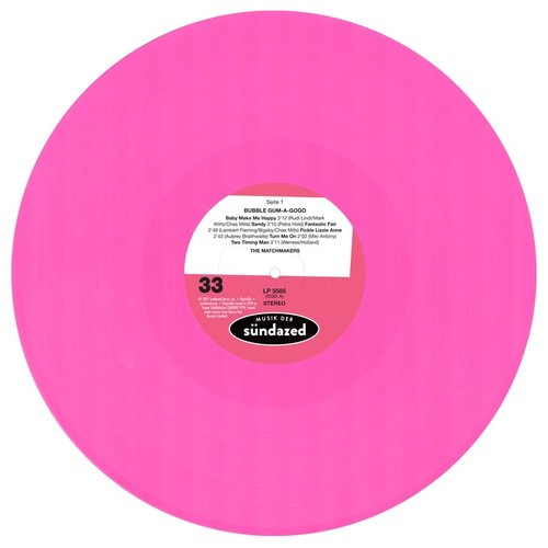 The Matchmakers - Bubble Gum A Gogo (Pink Vinyl LP + Pack Of Glee Gum)
