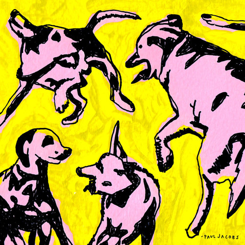 Paul Jacobs – Pink Dogs On The Green Grass