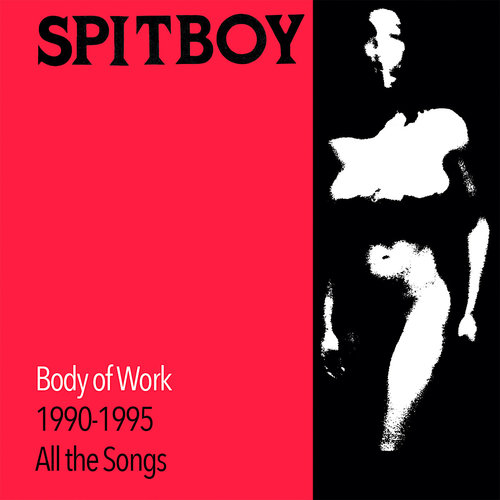 Spitboy - Body of Work 1990 - 1995 All the Songs (Red w/ Black Smoke Vinyl)