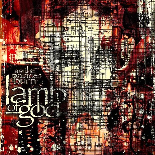 Lamb Of God - As The Palaces Burn (Limited Edition - Red with Blue & White Splatter) [NEUF]